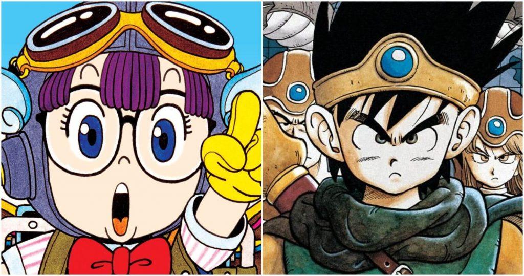 Dr. Slump and Dragonball Son Goku